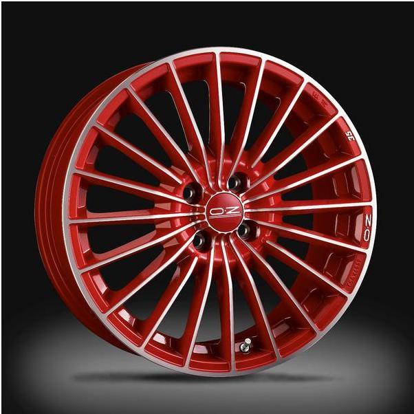 Автомобильный диск OZ Racing 35TH Anniversary Red