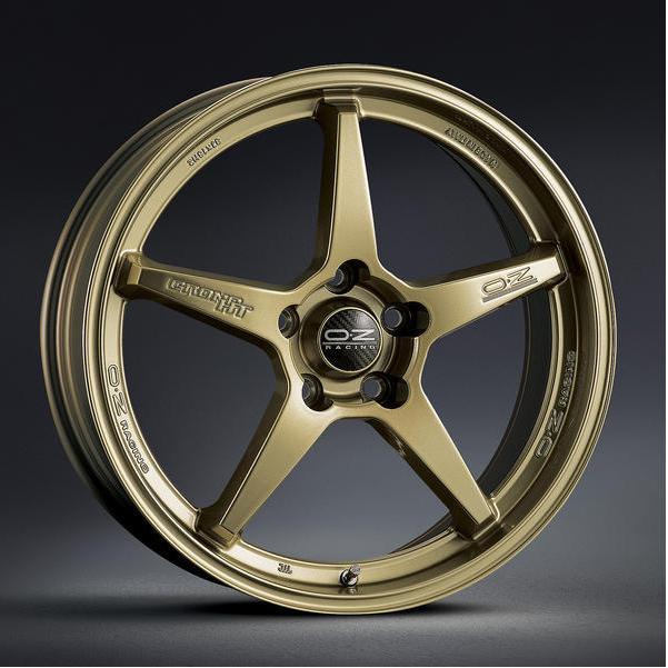 Автомобильный диск OZ Racing Chrono HT Gold