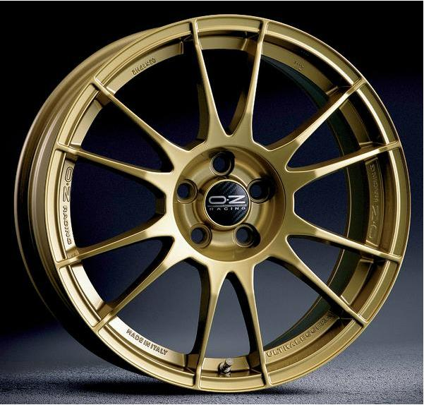 Автомобильный диск OZ Racing Ultaleggera HLT Gold
